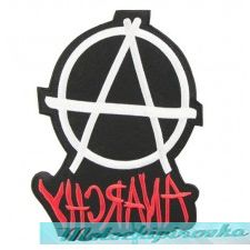 Anarchy Large 8 Inch Patch