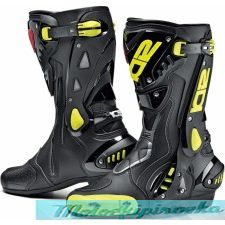 Sidi Мотоботинки ST, black-yellow fluo