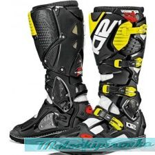 Sidi Мотоботинки Crossfire 3, white-black-yellow fluo
