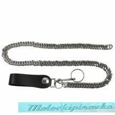 Biker Chrome Double Link Wallet Chain
