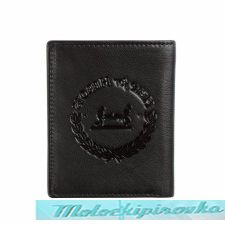 Tri-fold Fallen Heroes Black Leather Wallet