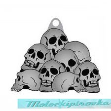 Key Chain Skull Piles