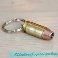Key Chain 045Cal Brass Bullet