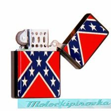 Rebel Flag Knife and Lighter Set