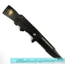 Police Rifle Style Action Assist Knife