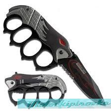 Eagle Handle Action Assist Knuckle Knife