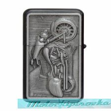 Classic Motorcycle Oil Lighter