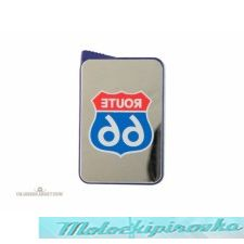 Route 66 Blue Mirror Lighter