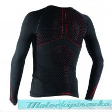 DAINESE D-CORE THERMO TEE LS LADY BLACK/ANTHRACITE кофта термобелье жен XS/S