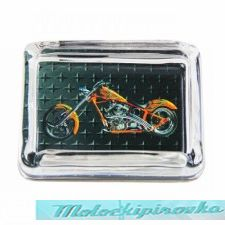 Chopper Collection Glass Ashtray
