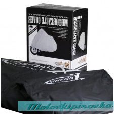 Xelement MC-49 Waterproof Black Motorcycle Cover