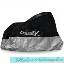 Xelement MC-65 Premium Black or Silver Motorcycle Cover