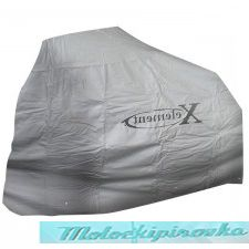 Xelement Premium MC-70 Navy or Silver Motorcycle Cover