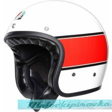 Мотошлем AGV X70 Mino 73, white-red