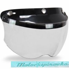 Мото шлем Outlaw Replacement Snap-on Visor with Flip-up