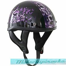 Мотошлем Outlaw T-70 Glossy Motorcycle Half Helmet