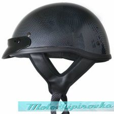 DOT Solid Carbon Half Helmet