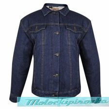 Lada Traditional Western Dark Blue Denim Jacket