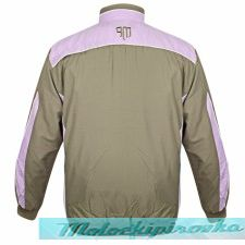 Mountain Fog Mens Sage-Lavender Windbreaker Jacket