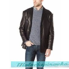 3-4 Length Mens Classic Leather Coats