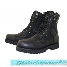 Мотоботы Mens Black Xelement Impact Biker Boots
