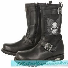 Мотоботы Xelement Mens Tribal Skull Boots with Poron Insoles