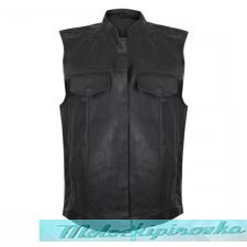 USA Leather Men's Combat Gun Pocket Vest