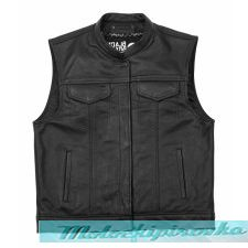 USA Leather Men's Club Vest