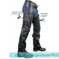 Мотоштаны мужские Advanced Dual Comfort System Leather Chaps