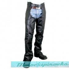 Best Seller Men's Premium Motorcycle Easy Fit Chaps with Zipper On Thigh