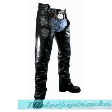 Мужские мотоциклетные штаны Mans Classic Braided Elastic Fit Leather Chaps