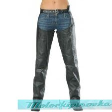 Мотоциклетные штаны Leather Ladies Advanced Dual Comfort Premium Leather Chaps