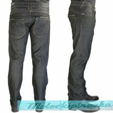 Mens Chris Thrasher Straight Denim Jeans