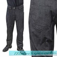 Мотоциклетные штаны Xelement Mens Armored Black Denim Jeans