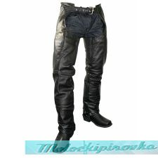 Мужские мотоциклетные штаны Xelement Mens Cowhide Leather Motorcycle Chaps