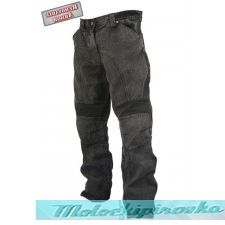 Мужские мотоциклетные штаны Xelement Mens Classic Fit Black Stonewash Denim Motorcycle Racing Pants