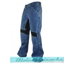 Мужские мотоштаны Xelement Mens Classic Fit Denim Motorcycle Racing Pants
