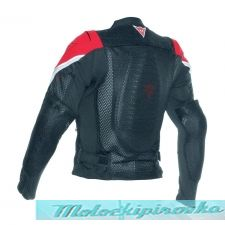 DAINESE SPORT GUARD - BLACK/RED куртка защитная 56