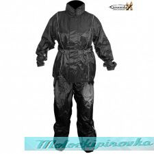 Xelement Ladies 2 Piece Black Motorcycle Rain Suit
