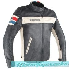 DAINESE HF D1 LEATHER JACKET - BLACK/ICE/RED/BLUE куртка кож мужская