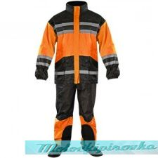 Xelement 2-piece Bone Dry Black or Neon Orange Rainsuit