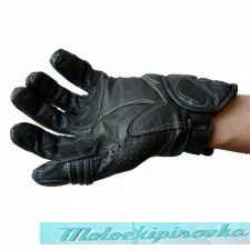 Мотоперчатки мужские Mens Protective Padded Leather Racing Gloves