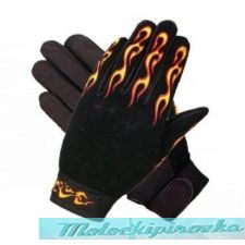 Mechanical Textile Fabric 'Flaming Fingers' Gloves
