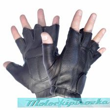Мотоперчатки Xelement XG-850 Leather Deerskin Fingerless Motorcycle Gloves