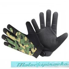Мотоперчатки Xelement Mens Camouflage Textile Motorcycle Wrist Gloves