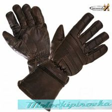 Xelement? Driving Motorcycle Retro Brown Leather Gauntlets