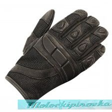 Мотоперчатки Xelement Womens Cool Rider Black Mesh Motorcycle Gloves