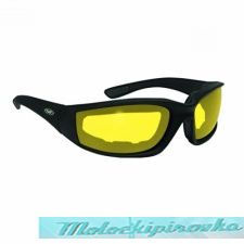 Global Vision Kickback Glasses with Yellow Tint Lens