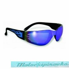 Global Vision Rider Flame G-Tech Blue Sunglasses