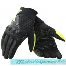 DAINESE X-MOTO BLACK/FLUO-YELLOW перчатки L